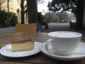 お茶を楽しみました。