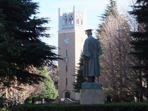 冬のキャンパス
