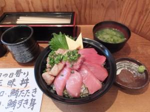 まぐろ丼(清水港・みなみ)