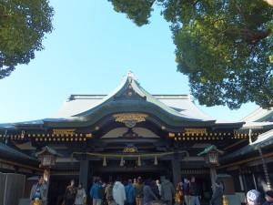 早稲田・穴八幡神社