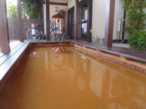 出雲駅前の温泉