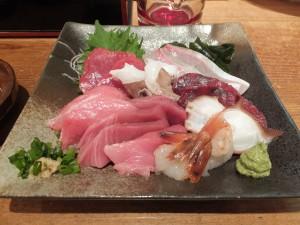 鮪と鮮魚のお造り