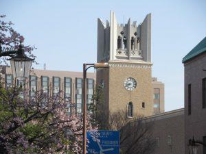 早稲田にも「春」が来ました。